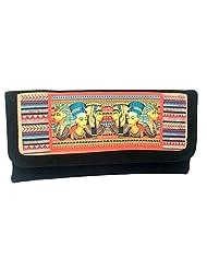 Craftstages Women's Handbags (HB998) (BLACK)
