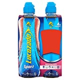 Lucozade Sport Raspberry Sport & Nutrition Drink 4 x 500ml Case of 6