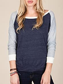 Printed Slouchy Pullover