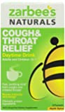 Zarbee's Naturals Cough & Throat Adult Daytime Drink, Apple Spice, 6 Count