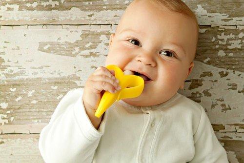 凑单品:BABY BANANA Bendable Training Toothbrush 硅胶婴儿牙胶牙刷 $5.61图片