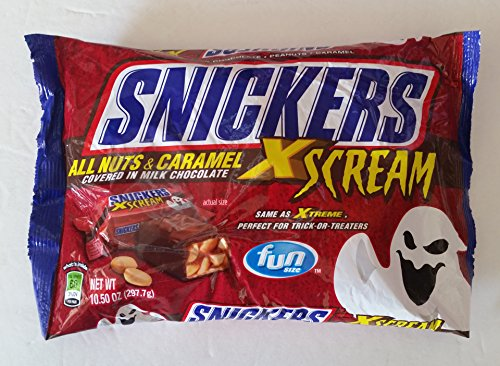 Snickers-XScream-Halloween-Candy-Bar-Fun-Size-Pack-of-4