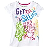 Yo Gabba Gabba White Short Sleeve T Shirt Tee Toddler Girl 4T
