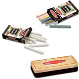 Melissa & Doug Eraser and Chalk Bundle