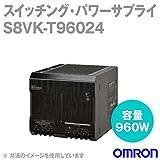 オムロン(OMRON) S8VK-T96024 スイッチング・パワーサプライ (容量960W) (出力電圧24V) (出力電流32-40A) (ピーク電流48A) NN