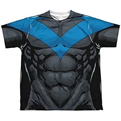 Youth: Night Blue Uniform Nightwing Costume T-Shirt