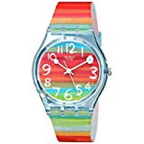 Swatch Ladies Color The Sky Multicolour Dial Watchby Swatch