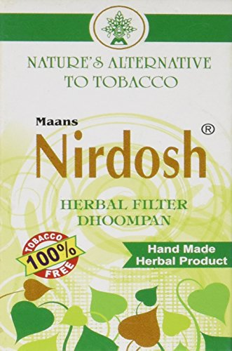 Nirdosh Herbal Cigarettes - 5 Packs - Ecstacy & Honeyrose Alternative!