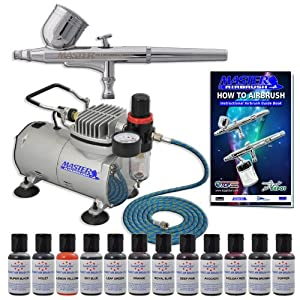 Airbrush For Cake Decorating Reviews : USD:Sale MASTER Cake Decorating Airbrush Kit Reviews - Y-6I