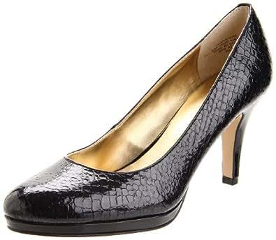 Anne Klein AK Wystere Womens Size 6 Black Pumps Heels Shoes