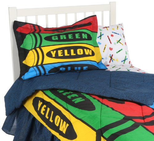 Crayon Bedding