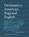 img - for Dictionary of American Regional English, Volume V: Sl-Z book / textbook / text book