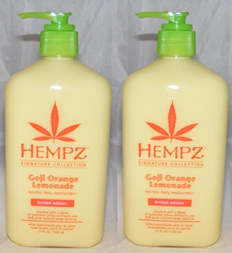 Lot de 2 Hempz GOJI limonade Orange aux herbes
