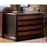 Coaster Home Furnishings 800514 Traditional File Cabinet, Black and Cherry