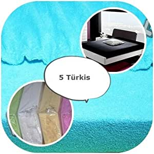 spannbettlaken mit gummizug frottee frotte 90x160 90x180. Black Bedroom Furniture Sets. Home Design Ideas