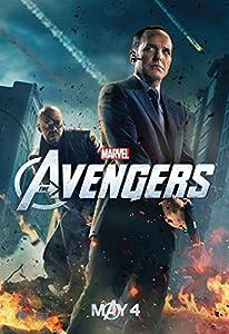 """The Avengers (2012) 13""""x19"""" Borderless Movie Poster Marvel Agent & Nick"""