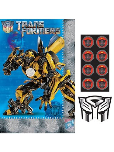 Transformers 'Dark of the Moon' Party Game Poster (1ct)