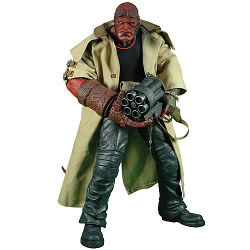 Buy Low Price Mezco Hellboy 2: The Golden Army 18″ Figure – Cigar in Mouth (B001TLAVJO)