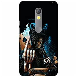 Moto X play Back Cover - Hell Designer Cases
