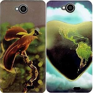 COMBO OFFER - Intex Aqua Life 3 Back Covers / Intex Aqua Sense 5.0 Back Covers (2 rubberised soft covers)