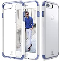 TPU Bumper Case Cover for Apple iPhone 7 Plus (Navy Blue )