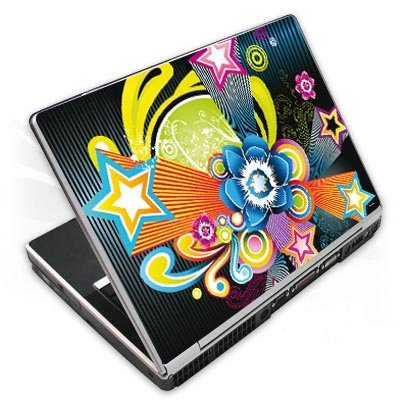 Design Skins für Acer Aspire 5253 - 70ies Flower Design Folie [Elektronik]