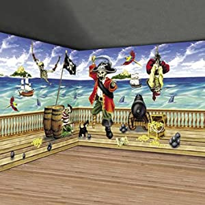 Design-A-Room Pirate Pack - Party Decorations & Backdrops & Scene Setters
