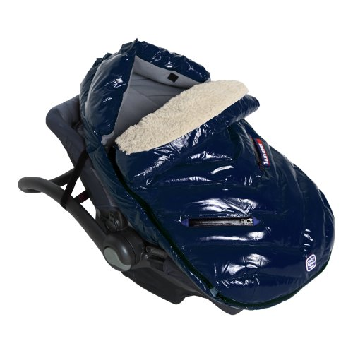 7AM Enfant Polar Igloo Baby Bunting Bag Adaptable for Strollers, Oxford Blue, Medium
