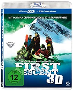 First Descent 3D - The Story of the Snowboarding Revolution (+ 2D-Version) [Blu-ray 3D]