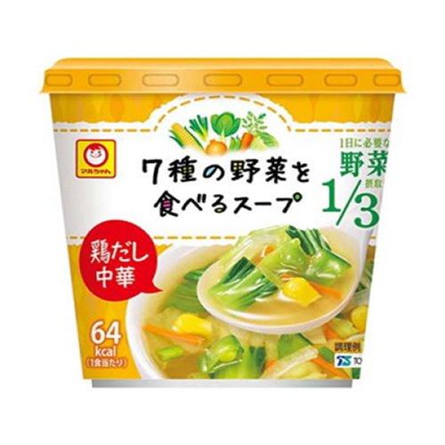 マルちゃん 7種の野菜を食べるスープ 鶏だし中華 22g×6個