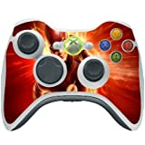 Comic Book Hero Xbox 360 Wireless Controller Vinyl Decal Sticker Skin by Compass Litho