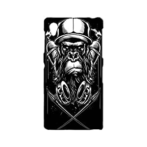 BLUEDIO Designer 3D Printed Back case cover for Sony Xperia Z1 - G0198