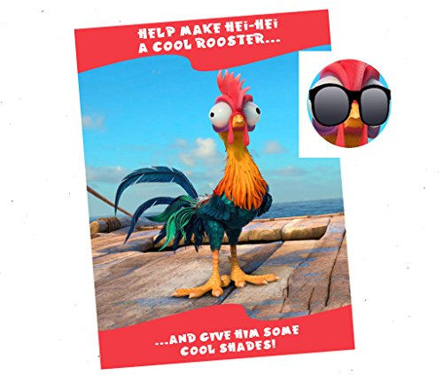 Pin the Shades on Hei Hei Game