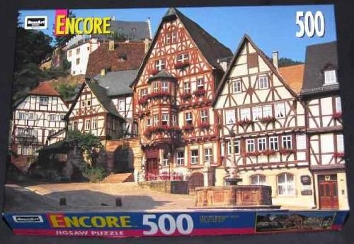 Encore 500 PC Puzzle - Miltenberg Bavaria, West Germany by Rose Art - 1