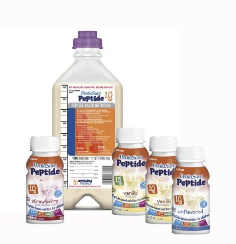 Pediasure Peptide 1.0 Cal Nutritional Formula ( Pediasure Peptide 1 Cal Vanilla 8Oz Btl ) 24 Each / Case
