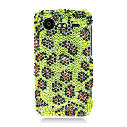 Cell Accessories For Less (Tm) Htc 6350 Droid Incredible 2 Diamond Case Leopardskin 394 - By Thetargetbuys