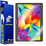 ArmorSuit MilitaryShield - Samsung Galaxy Tab S 10.5 Screen Protector Anti-Bubble Ultra HD - Extreme Clarity & Touch Responsive with Lifetime Replacements Warranty - Retail Packaging