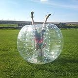 AmazingsportsTM Bubble Soccer Balls Suit Cheap dia 5' 1.5m Bubble Football Ball Suit For Adults Transparent PVC Bumper Balls(1.2m 1.7m aviliable)