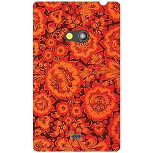 Nokia Lumia 625 Back Cover ( Designer Printed Hard Case)