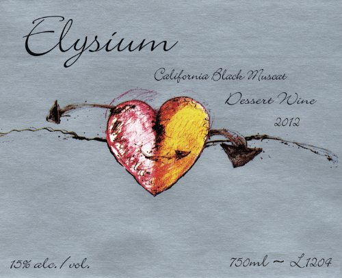 Quady 2012  Elysium Black Muscat 750ml