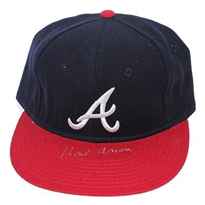 Hank Aaron Autographed Atlanta Braves Hat - JSA Certified Authentic