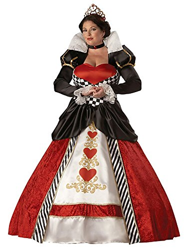 Queen of Hearts Elite Collection Plus Adult Costume - Adult Costumes
