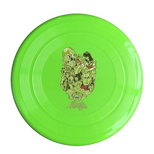 YYHU - Plastic The Return Of The Living Dead Frisbee Disk/disc - KellyGreen