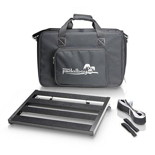Palmer MI PEDALBAY 40-Variables - Pedana per effetti a pedale, con borsa per il trasporto imbottita, 45 cm