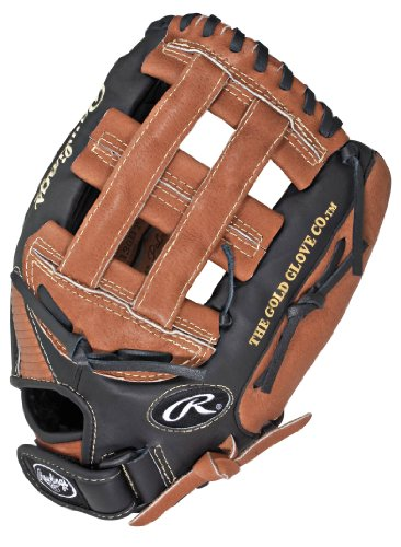 Rawlings Playmaker Series 13-inch Softball Pattern Glove, Right-Hand Throw (PM130BT)