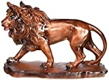 Unison Gifts PY-0277 5.5 H In. - Prowling Wooden Lion
