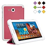WAWO Samsung Tab 3 Lite 7.0 Inch Tablet Fold Case Cover - pink