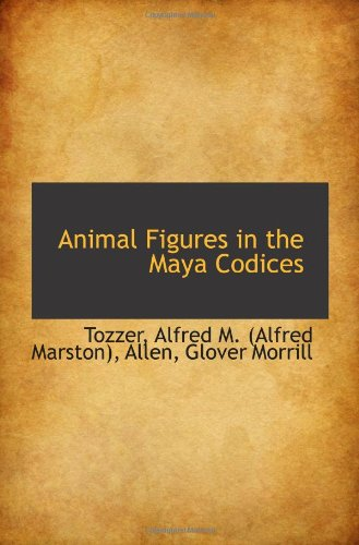 Animal Figures dans les Codex Maya