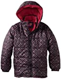 Pink Platinum Girls 7-16 Geometric Printed Puffer Jacket