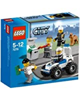 Lego City - 7279 - Jeu de Construction - Collection de Figurines - City Police